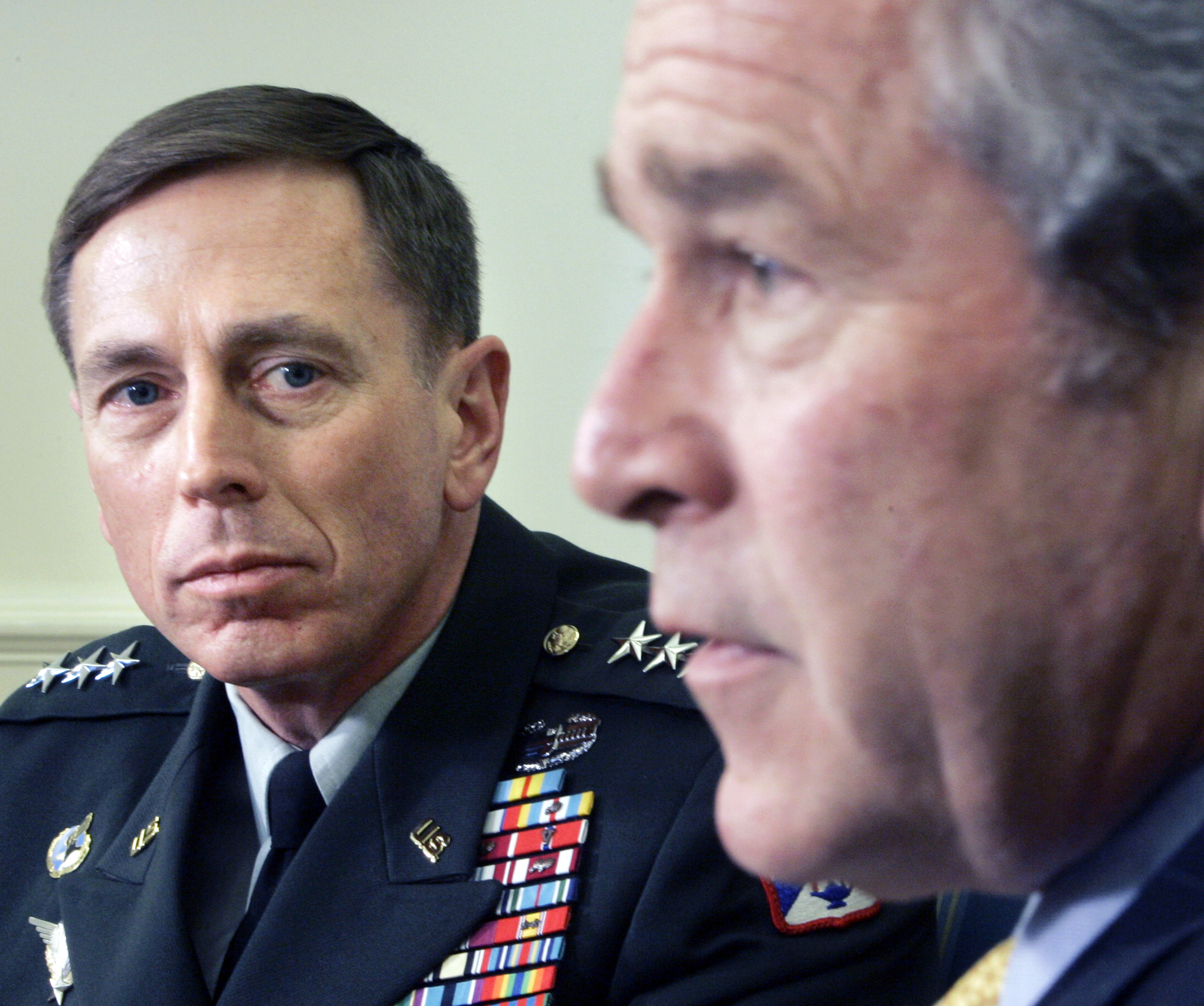 George W. Bush ja David Petraeus